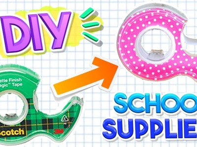 DIY School Supplies for Back to School 2017! Alisha Marie