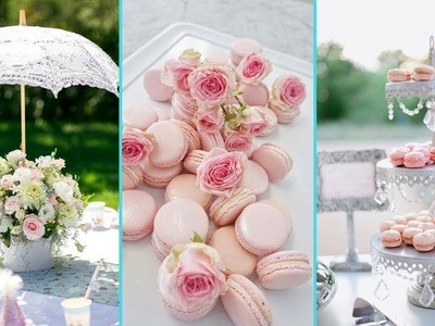❤ DIY Shabby Chic style-The Tea Party decor Ideas ❤| Home decor & Interior design | Flamingo mango|