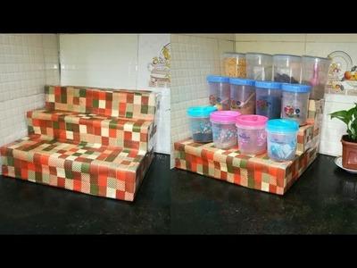 Diy Spice Organizer for Kitchen - Kitchen Organization Idea   Anupama Jha