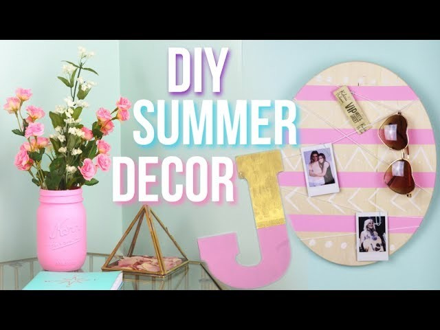 diy summer room decor pinterest and tumblr inspired. Black Bedroom Furniture Sets. Home Design Ideas