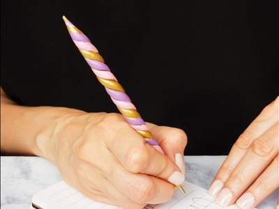 DIY Unicorn Inspired Pen | Back to school idea