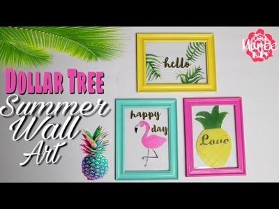Dollar Tree DIY Summer Wall Decor