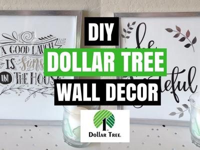 DOLLAR TREE DIY WALL DECOR| DIY ROOM DECOR| COLLAB