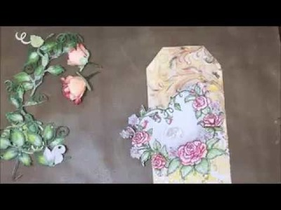 Dress My Craft -Floral Oriental Paper by Anita Kejriwal