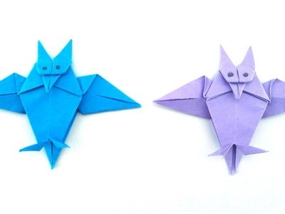 Easy Origami: Paper Owl | 90 Seconds of Origami
