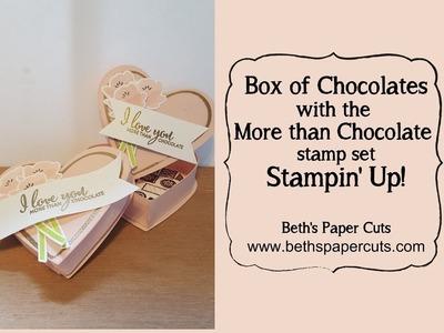 Heart Shaped Chocolate Box ~ Beth's Paper Cuts