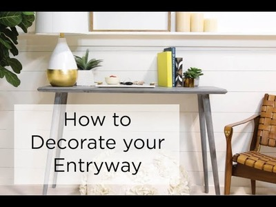 How to Decorate an Entryway - Safavieh DIY Decor