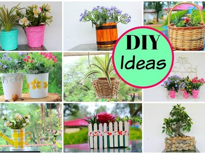 How to decorate old flower pots into new (Part 1). DIY for Home Decor