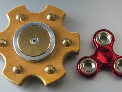 How to make a DIY fidget spinner