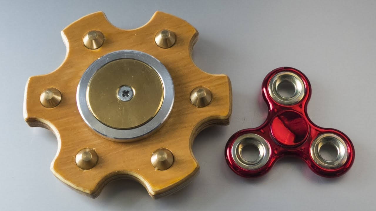 how to make a fidget spinner fly