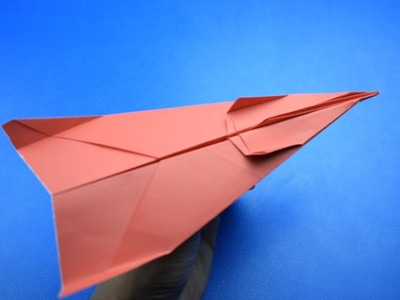 How to make a GOOD PAPER PLANE- cool paper airplane that flay FAR- M2