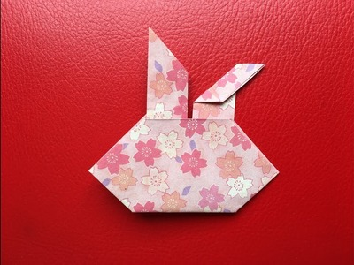 How To Make An Origami Paper Bunny Face