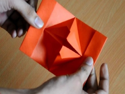 How to make Chatting Lips by Paper Folding | Origami
