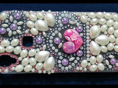 HOW TO MAKE. DECORATE MOBILE COVER  (DIY AT HOME #6) @ChannelFarzGallery