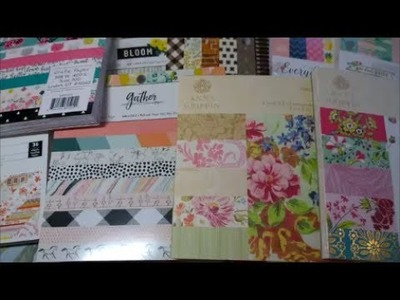 Huge Paper Pad Haul from JoAnn's - Crate Paper, Susan Winget, Anna Griffin Plus!