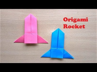 Incredible Origami Paper Rocket That Flies Forever