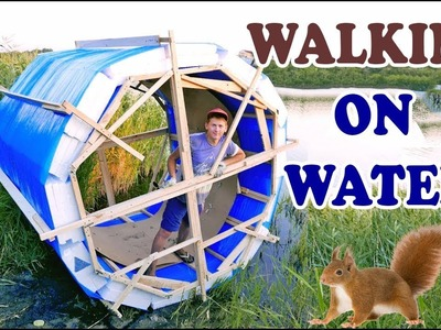 INSTRUMENT FOR WALKING ON WATER (FROM STRETCH FILM AND STYROFOAM) – DIY