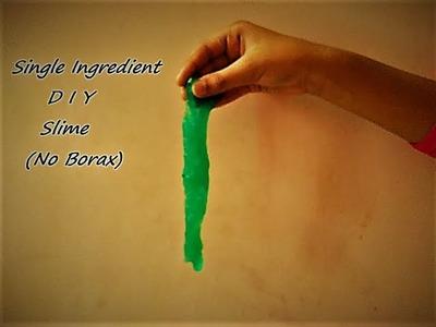 One Ingredient DIY Slime (No Borax) | Shannel