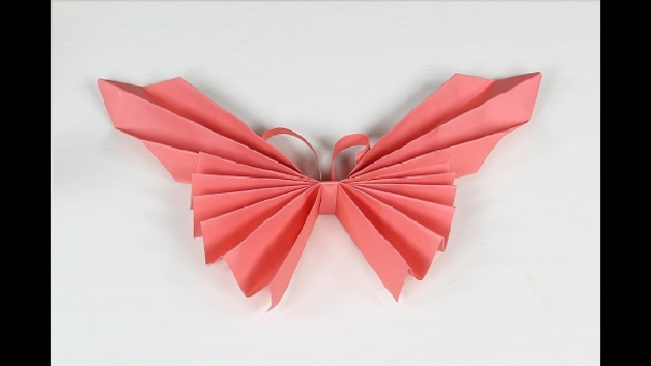 origami butterfly how to make an origami paper butterfly