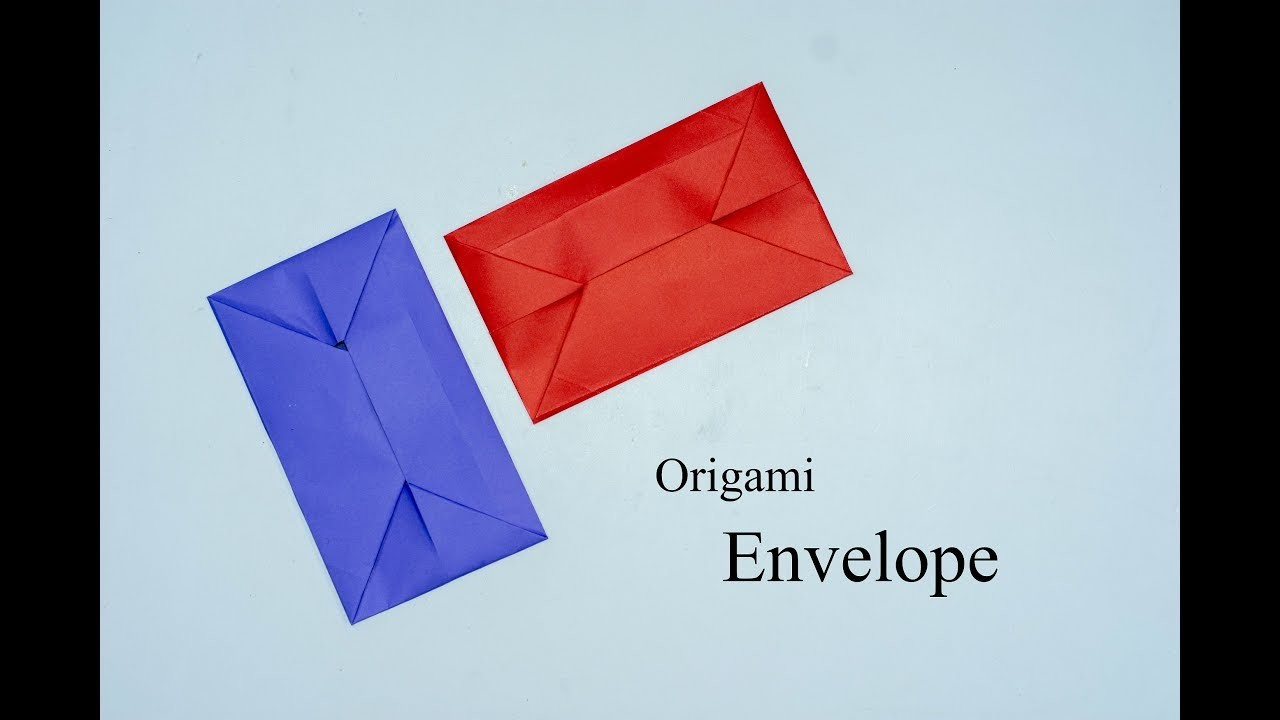 origami envelope how to make a simple origami envelope