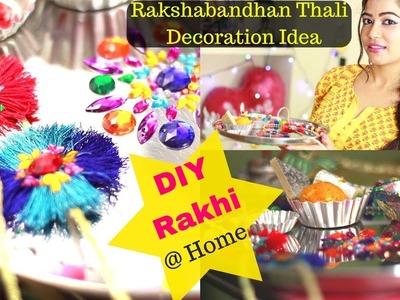 Rakshabandhan Celebration   Rakhi DIY   Thali Decoration Idea