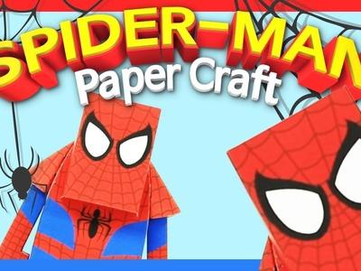 Spiderman paper toy   Momot Paper Toy