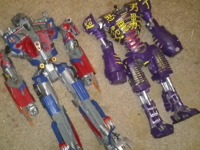 Transformers 2 paper optimus prime