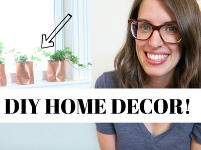 Trash to Treasure DIY Home Decor | How To Decorate on a Budget!