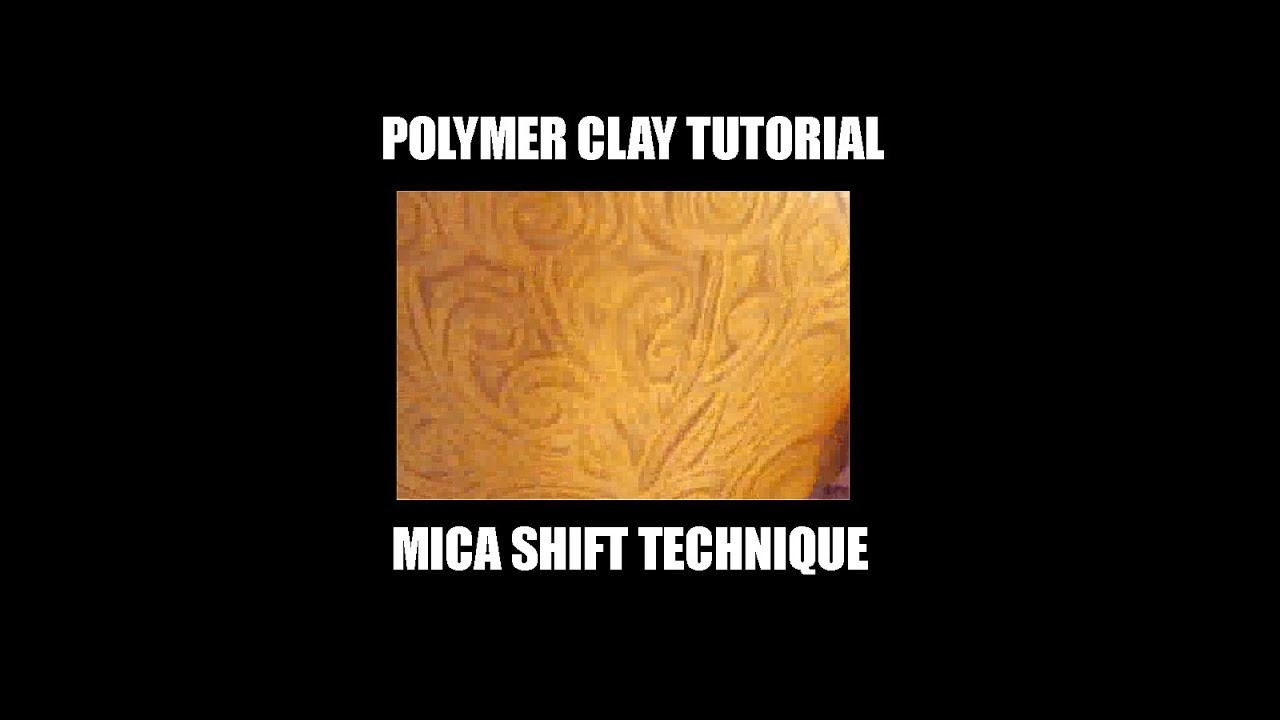 084-Polymer clay tutorial - the mica shift technique