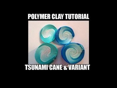 095-Polymer clay tutorial - tsunami cane and variant