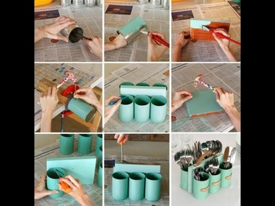 12 brillantes Ideas de manualidades recicladas Parte 1- Ideas para decorar - Recycled crafts