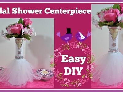 ????Bridal Shower.????Wedding Centerpiece DIY project.
