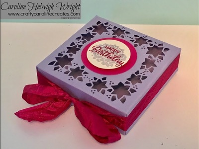Card Front Builder Gift Box Tutorial - but not for Christmas