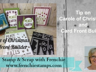 Carole of Christmas and Card Front Builder