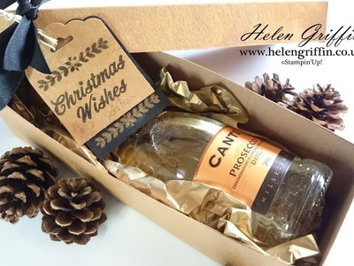 Christmas In July DAY 1 | Mini Champagne.Wine Gift Box