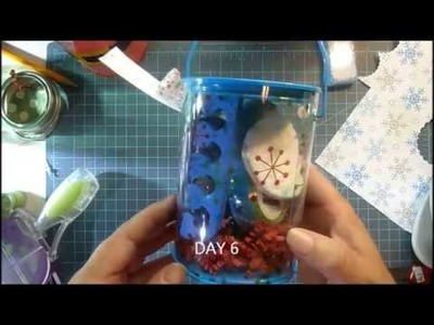 CHRISTMAS IN JULY SERIES 2017 DAY 6  JOLLY MANICURE