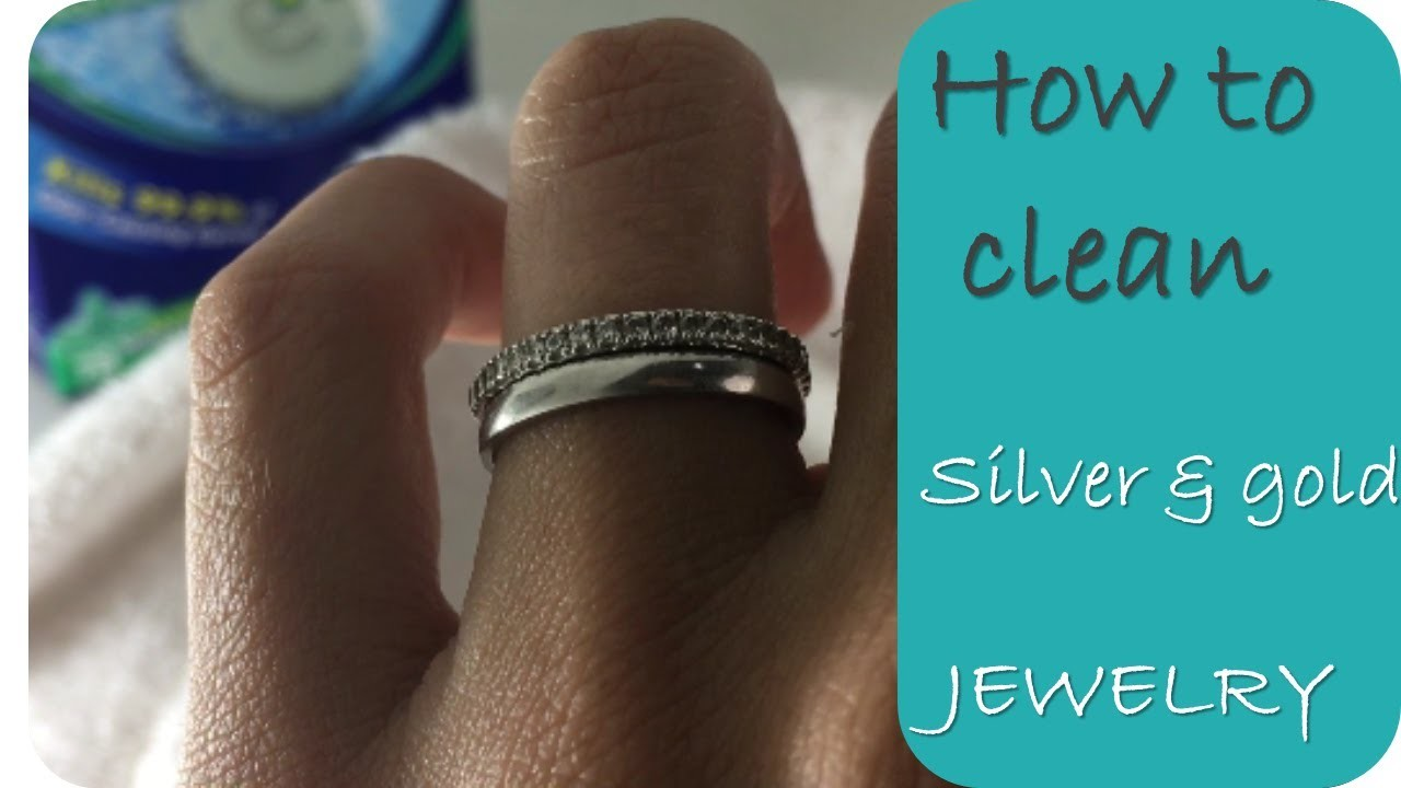 Clean Jewelry - How to clean gold and silver jewelry