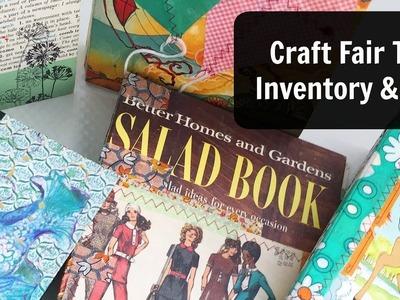 Craft Fair Video: Journal Flip Through: Craft Show Tips
