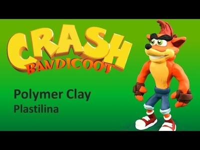 CRASH Bandicoot - Polymer Clay Tutorial