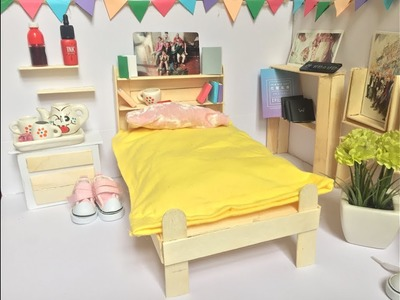 DIY A BED FOR YOUR DOLL