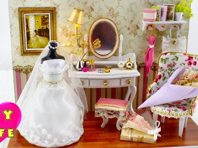 "DIY Miniature Dollhouse Kit With Working Lights ""Love Forever"""