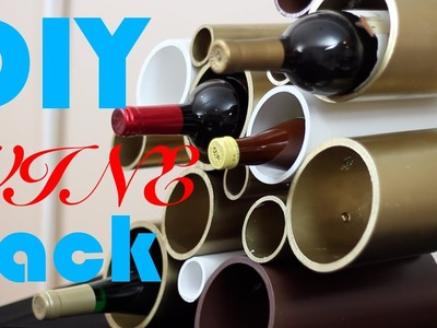 DIY PVC Wine Rack- DIY Test #10