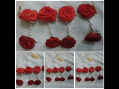 DIY real  Flowers Jewelry For Brides l