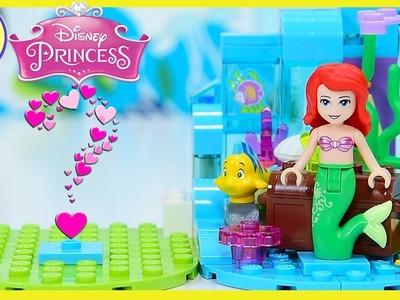 DIY Tiny Diorama Lego Disney Princess Ariel Little Mermaid Display Scene Build