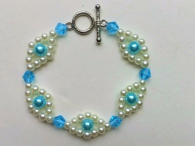 Easy jewelry making instructions to make your very own beautiful homemade bracelet.