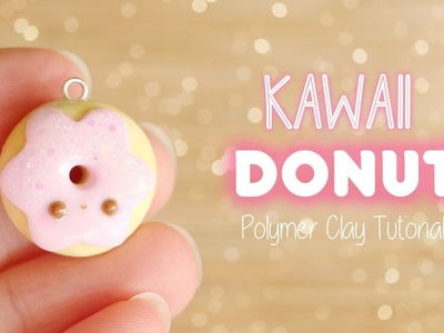 Easy Kawaii Donut│Polymer Clay Tutorial