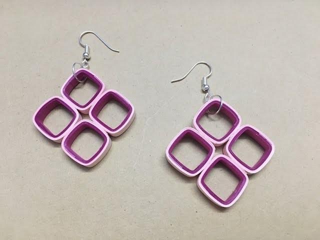 paper earrings handmade paper jewellery tutorial - photo #23