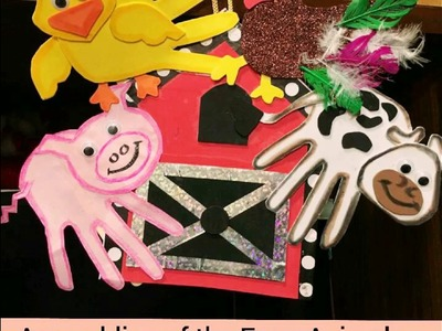 Farm Animals(Part 5.5);Art and Craft;Wall Hanging!