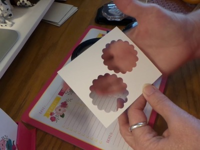 Fast & Easy Notecard Up-Do.  Great seller at Craft Fairs