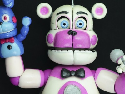 "FUNTIME FREDDY | SISTER LOCATION ""TUTORIAL"" ✔POLYMER CLAY (REUPLOAD)"